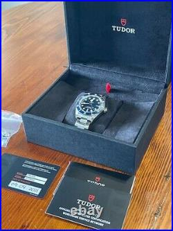 Tudor Black Bay 58 BLUE. Mint condition, all boxes and papers