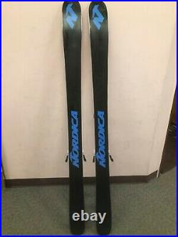 USED Nordica Enforcer 100 All-Mountain Skis with Salomon Warden Bindings