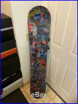 USED RIDE DH LE snowboard 151 LTD Super RARE! Supreme custom DC Burton