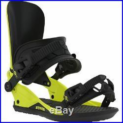 Union Strata Mens Snowboard Bindings Hazard Yellow Large 2020