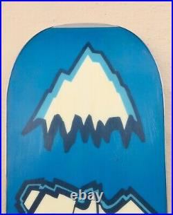 Vintage 1995 Burton Cruizin 153 Jeff Brushie Snowboard
