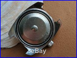 Vintage Buren Diver withMint Dial, HEV Screwdown Crown, All SS Case, Runs FOR REPAIR