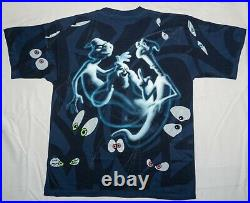 Vintage Casper the Friendly Ghost All Over Print Shirt 1995 Changes XL MINT NEW