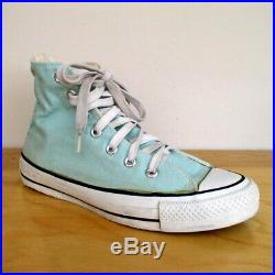 Vintage Converse Chuck Taylor All Star Hi Top Sneaker Mint Green Made in the USA