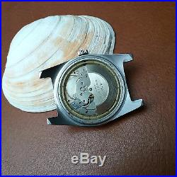 Vintage Elgin M135 Day-Date Diver withMint Dial, Warm Patina, All SS Case, PUW 1463
