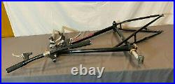 Vintage GT All Terra Triple Triangle 20 CrMo Mountain Bike Frame BB Bar Levers+
