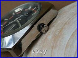 Vintage Hamilton Day-Date withMint Dial, Warm Patina, All SS Divers Case, Runs Strong