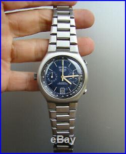 Vintage Heuer Daytona Racing Chronograph Cal 12. All original MINT 1970's Exc+