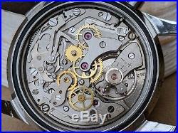 Vintage La Cloche Sub 200 Chronograph withMint Dial, Patina, Divers All SS Case