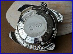 Vintage NOS Paul Peugeot Day-Date Diver withMint Dial, All SS Case, Screwdown Crown