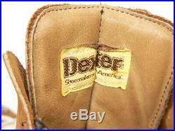 Vintage USA made DEXTER All Leather Mountaineering Mountain Boots Men's US 12 M
