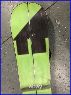 Voile Artisan 162cm Splitboard Snowboard With Spark R&D Bindings