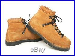Vtg Italian made Kinney All Leather Mountaineering Hiking Boots Men's US 10