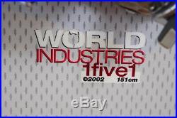 World Industries 13 Snowboard Size 151 CM World Medium Bindings